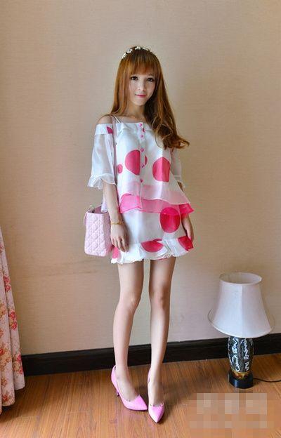 连衣裙搭配高跟鞋 这样穿绝对美!